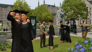 Sims in College