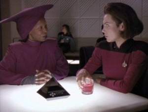 Guinan and Ro Laren
