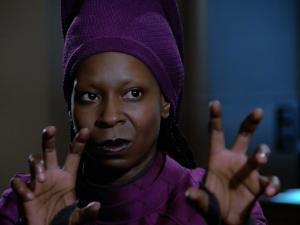 You don't fuck with Guinan