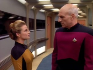 Don't try to stare down Picard. Just don't.