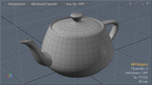 The Famous Utah Teapot