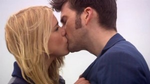 This kiss doesn't count, it isn't the actual Doctor. That's my story and I am sticking to it!