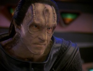 Gul Dukat, the face of pure evil.