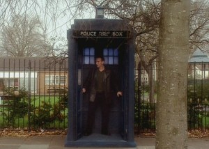 Dude, where's my TARDIS? Yes, I deserve to be slapped for that.